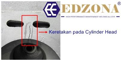 Kawat Las Perbaikan Cylinder Head